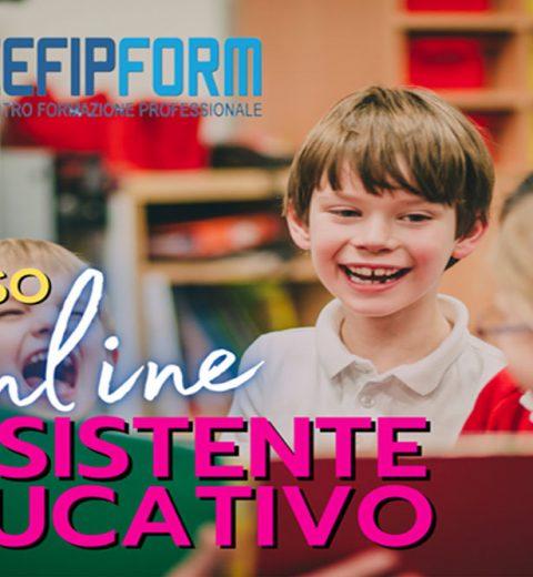 Corso Assistente Educativo News 2020